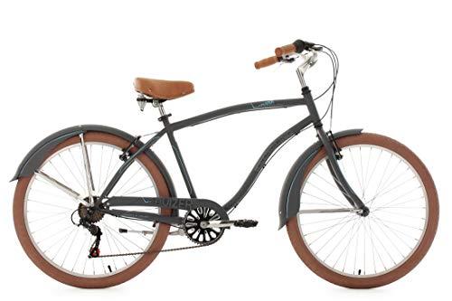 KS Cycling Beachcruiser 26'' Cruizer anthrazit RH48cm