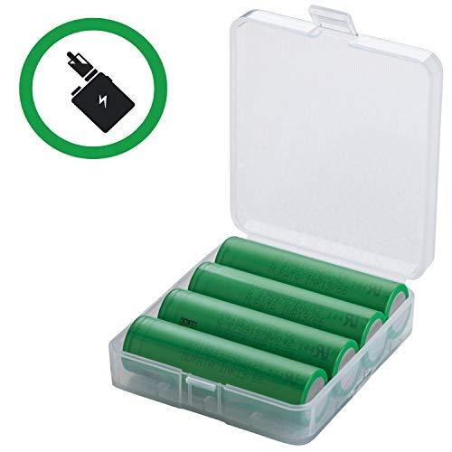 4 VTC6 Akkus INR Batterien Akku Dampfen ezigarette, e-Zigarette, 18650, konion, Vaping (3120mAh/3,7V/30)