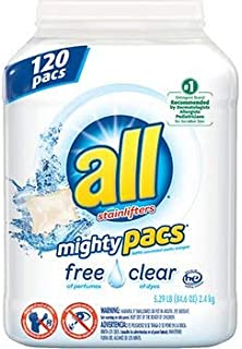 all Free & Clear Mighty Pacs, (120 ct.) x2 AS