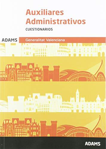 Cuestionarios Auxiliares Administrativos Generalitat Valenciana