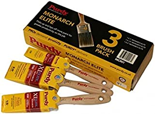 Purdy Monarch Elite Paint Brushes 3Pk MON1