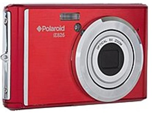Polaroid iE826 Digital Camera (Red)