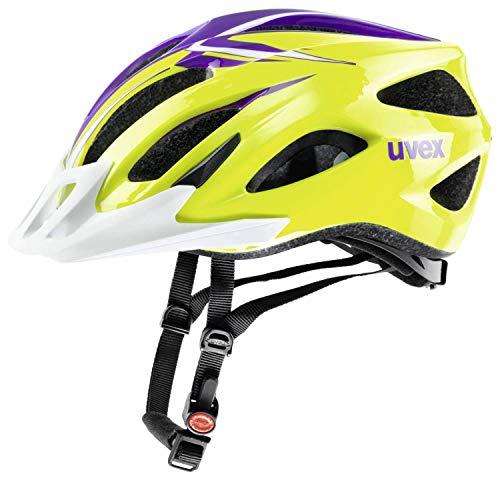 Uvex Viva II - Casco de ciclismo (52-57 cm), color verde y v