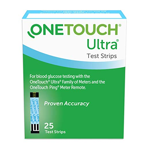 OneTouch Ultra Diabetes Test Strips - 25 Count