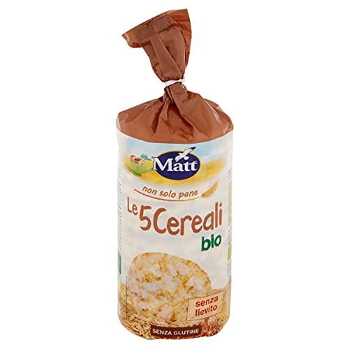 Matt Bio Gallette ai 5 Cereali senza Glutine, 120g