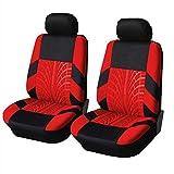Sarplle Auto-Sitzbezüge Set Sitzbezügesets 1 Satz Autositz Schonbezüge Autositzauflage Universal Sitzauflage für PKW, LKW, UV