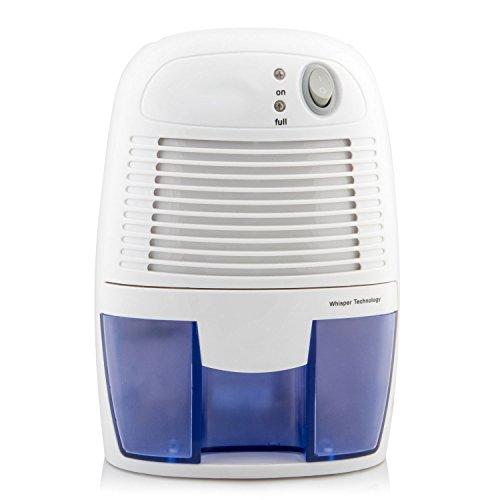 Hmore Mini Electric Dehumidifier 16 oz Capacity 1100 Cubic Feet for Home Bedroom Bathroom&car