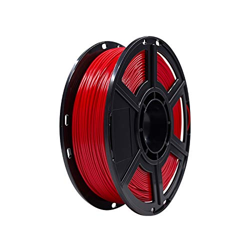 FLASHFORGE ABS 3D Printing Filament 1.75mm 0.5KG/Roll for Dreamer Series (Red)