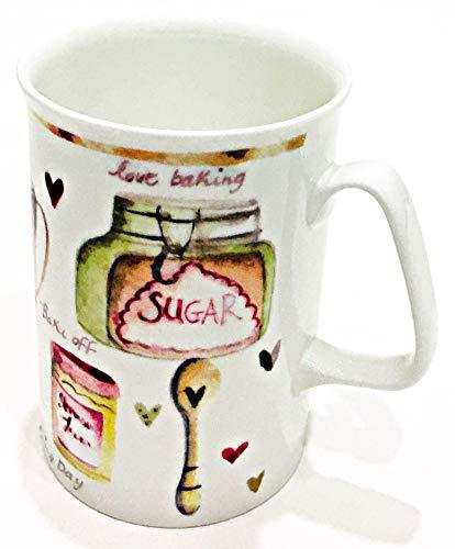 Rose of England Kaffeetasse aus feinem Porzellan