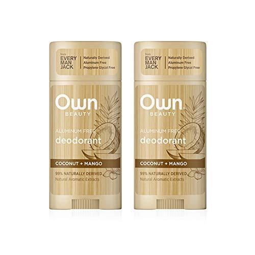Own Beauty Deodorant depot - Coconut + Mango In stock N Twin 2.7-ounce Pack