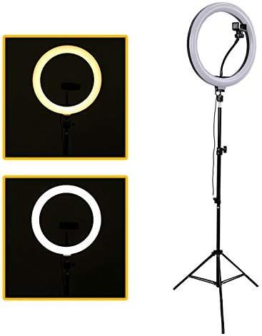 Ring Light Portátil Iluminador Led USB 26cm 3500k 5500k + Tripé