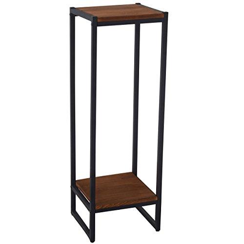 Iron & Wood Dismountable Plant Stand Wood Shelf Display Shelf IRWS1629h