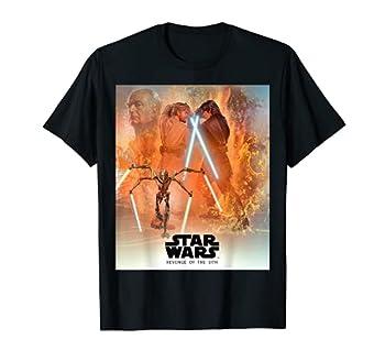 Star Wars Celebration Mural Revenge of the Sith Logo T-Shirt T-Shirt