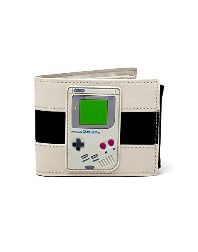 Negro gris monedero clásico Nintendo Game Boy 11x9x2cm