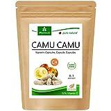Camu Camu Cápsulas Extracto 8:1 con 50% de vitamina C natural (120 o 360 piezas) - producto de...