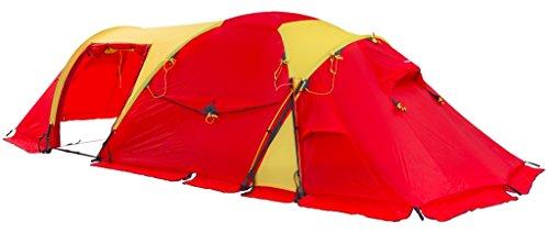 Helsport Svalbard High Camp 5 Zelt red/Yellow 2020 Camping-Zelt