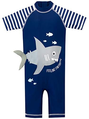 Harry Bear Bañador para Niño Tiburón Azul 18-24 Meses