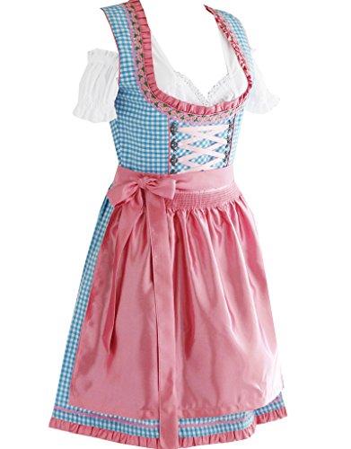 Alte Liebe 3tlg. Dirndl Kleid A302 /32