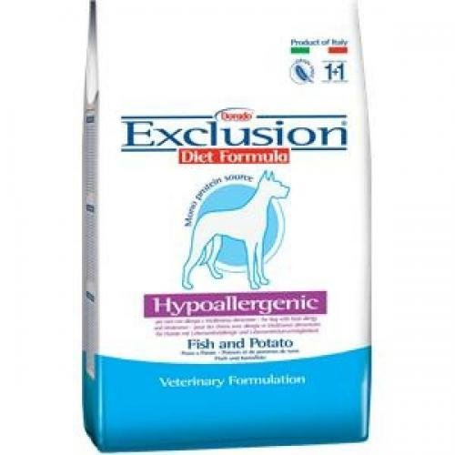 EXCLUSION DIET Fish & Potato 12,5 kg, Trockenfutter, Hundefutter