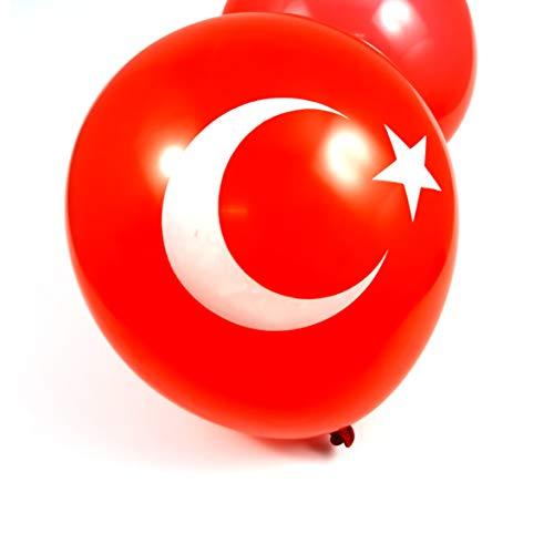 Türkei Ballons Ballon Balon Türk Turkey Balon Luftballon türkische Luft Ballon ca.20cm (15)