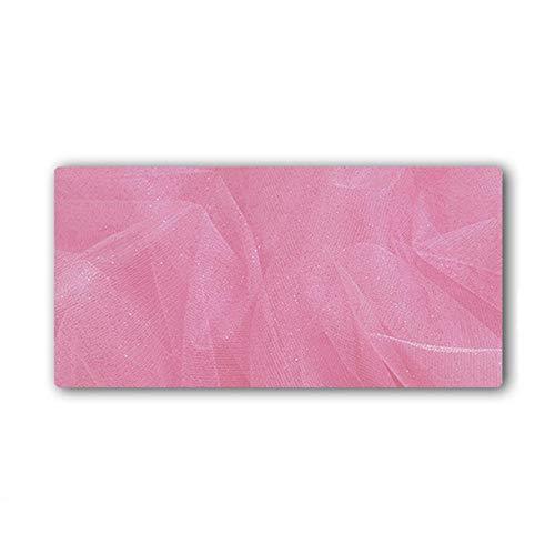 HmDco Rosa bureau-onderlegger extra grote muisonderlegger dikke slipvaste muismat, 1200x600x3mm, roze, kant