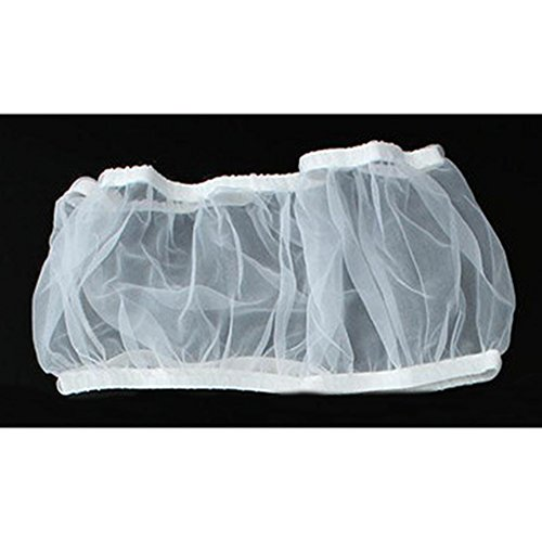 MOOUK - Falda de Malla de Nailon para atrapar Semillas de pájaros, Cubierta de Red para la circulación del Aire, Falda para Jaula de pájaros de 7/8/13 Pulgadas, tamaño para su elección
