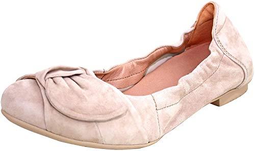 Think! Damen Balla_484163 Geschlossene Ballerinas, Beige (Puder 34), 39 EU