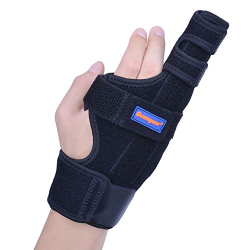Boxer Finger Splint- Original Metacarpal Splint for Boxer's Fracture, 4th or 5th Finger Break, Post-Operative Care and Pain Relief (S/M)