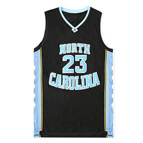 para Hombre de Carolina del Norte # 23 Jordan High School Camiseta de la película de New Cosido Deportes de Deporte para Regalo (S-XXL) XXL
