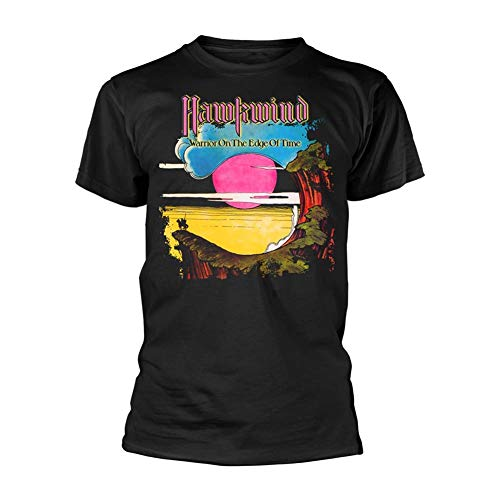 Hawkwind Warrior ON The Edge of TIME (Black) T-Shirt M