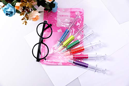 Product Image 5: SDBING 6pc Syringe Highlighter Pens with 6 Colors Christmas gift
