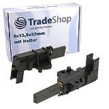 2x Kohlebürsten Motorkohlen Schleifkohle Carbonstift 5x13,5x32mm 4,8mm AMP für CESET-Motor MCA52/64-148 MCA61/64-148/BC1/ZN1/KT16 MCA 38/64-148/IE
