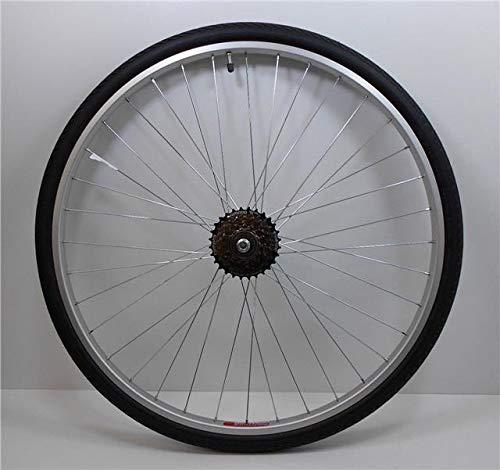 Baldwins 6 Speed 700c REAR Hybrid Trekking Bike/Cycle Wheel + TYRE & TUBE