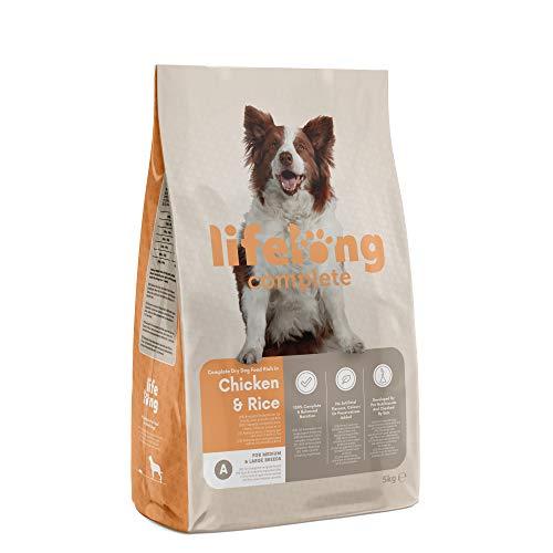 pas cher un bon Nourriture sèche complète à vie de marque Amazon pour chiens adultes riches en poulet…