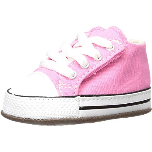 Converse Unisex-Kinder Chuck Taylor All Star Cribster Hohe Sneaker, Pink (Pink 865160c), 17 EU