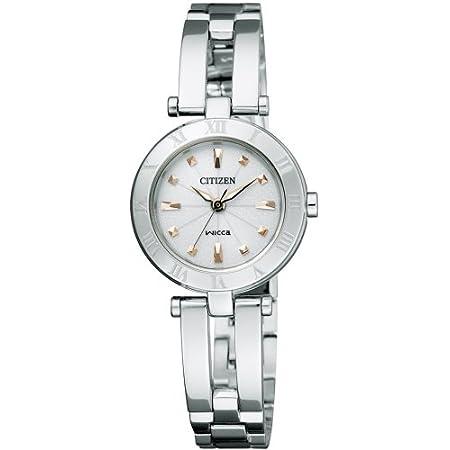[シチズン]CITIZEN 腕時計 wicca ウィッカ Wicca ウィッカ Eco-Drive エコ・ドライブ ハーフバングル シンプルアジャスト NA15-1572 レディース