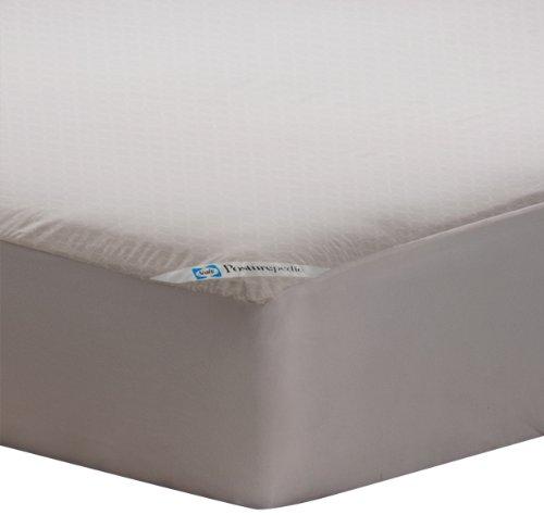Sealy Posturepedic - Protector de colchón con cremallera