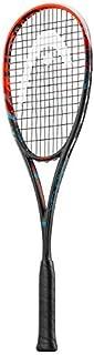 HEAD Graphene XT Xenon 135 Squash Racquet, Strung 210026, Black, One Size