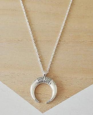 Collier corne de buffle, sautoir corne de buffle, indien, boho, bohème, bijoux femme, bijoux handmade, cadeaux femme, bijoux cadeaux, bijoux créateur