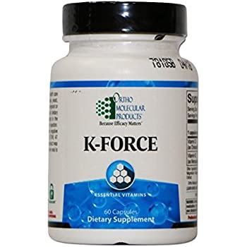 Ortho Molecular Products K-Force Capsules, 60 Count