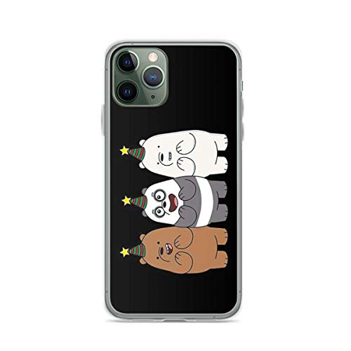 Phone Case We Bare Bears Compatible with iPhone 6 6s 7 8 X XS XR 11 Pro Max SE 2020 Samsung Galaxy Bumper Scratch Tested