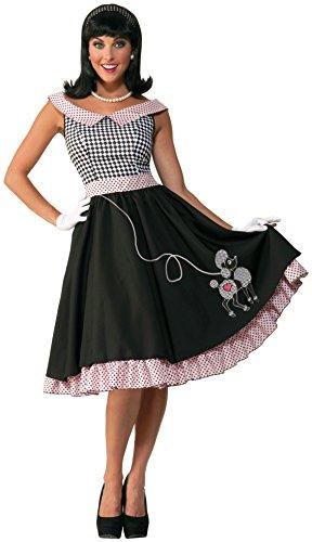 Forum Novelties Women's 50's Checkered Cutie Costume