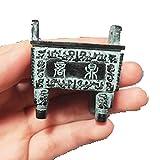 WYGOAKG Trípode de bronce chino retro simulación retro colección bronces artesanía regalos decoración acuario