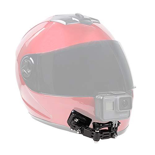 SUREWO Soporte para Casco de Motocicleta y Soportes Adhesivos Compatible con GoPro Hero 8 7 6 5 Black, 4 Session, 4 Silver, 3 +