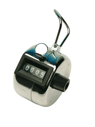 QCONNECT TALLY COUNTER CHROME