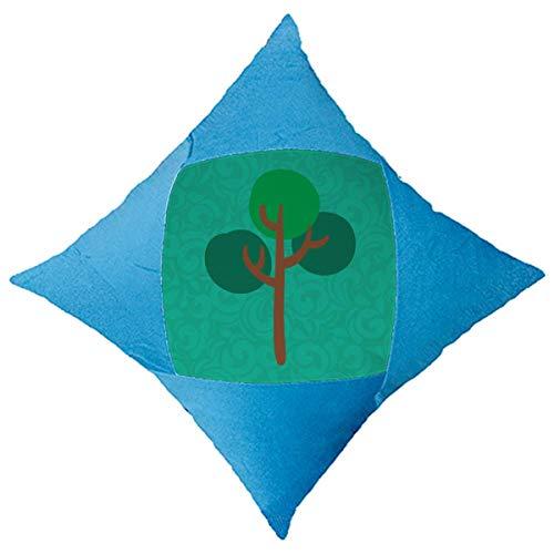 OFFbb-USA - Funda de cojín para cama de coche, color verde