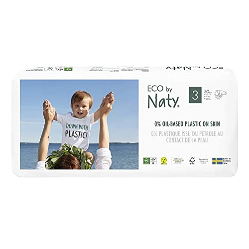 Naty, pannolini per bambini, taglia 3(4-9kg), midi, confezione da 50