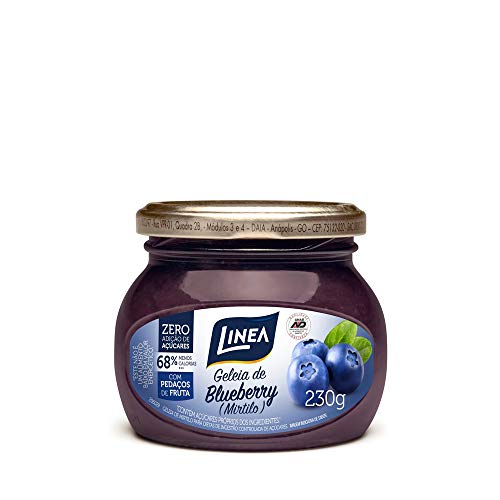 Geleia Diet de Mirtilo Linea 230g
