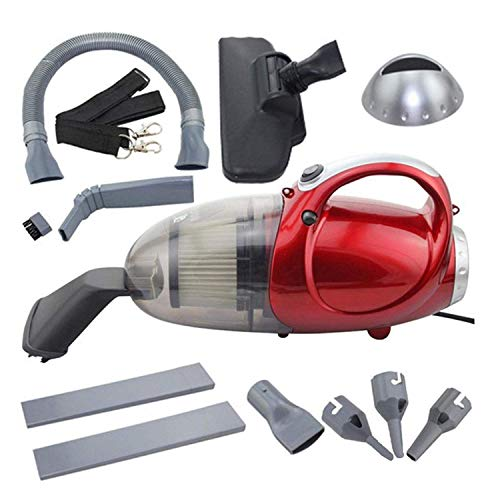 HB Mall India 220-240 V, 50 Hz, 1000 W Blowing and Sucking Dual Purpose Vacuum Cleaner (Standard Size, Red)