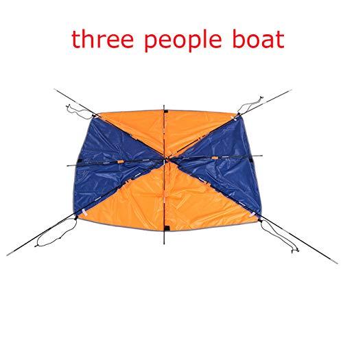 SHIJING Opblaasbare boot kajak accessoires vissen zon schaduw regen luifel kajak kit zeilboot luifel top cover 2-4 personen boot Shelter